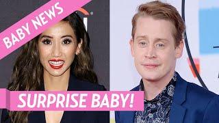 Macaulay Culkin And Brenda Song Welcome 1st Child