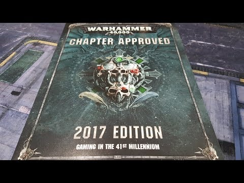 Chapter Approved 2017; review