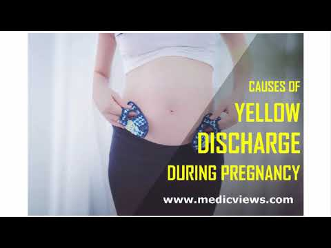 yellow-discharge-during-pregnancy