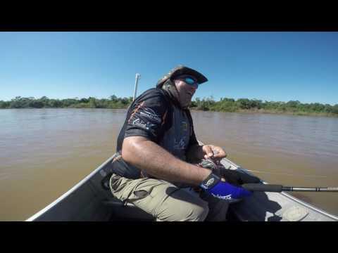 Teste Carretilha ROVER 80L KASTKING Pesca PIRARA Luiz Alves GO Maio