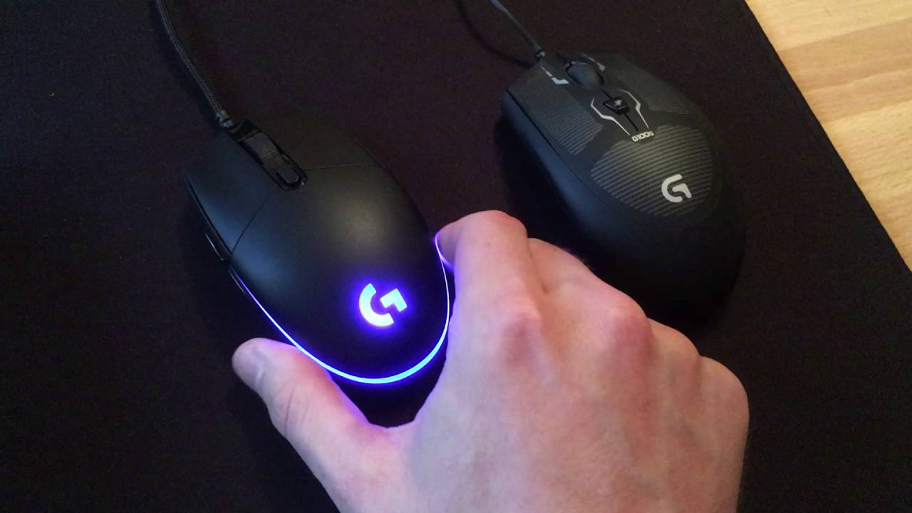 ddb498495af Logitech G Pro Gaming Mouse quick review - YouTube