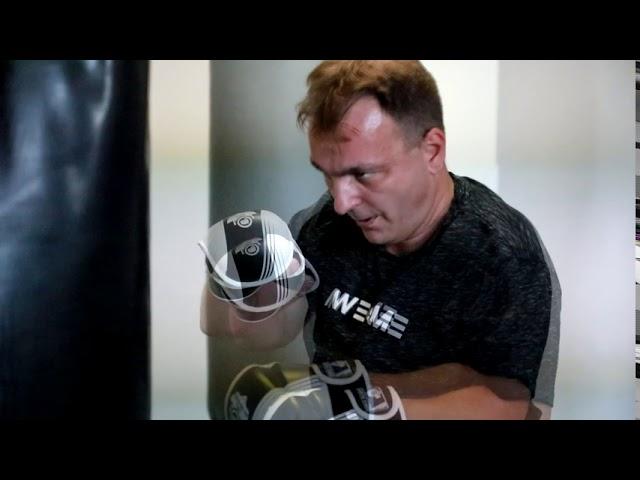 Boxerský trénink s Václavem Mikuláškem