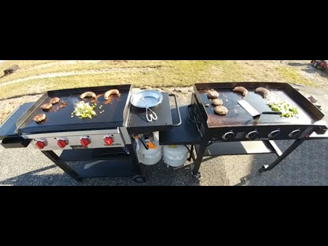 Comparison of Grilling, Blackstone Vs Camp Chef Grills