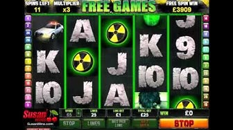Unbelievable £4,351 Win - Free Games Bonus - The Incredible Hulk Slots Online Slots Review