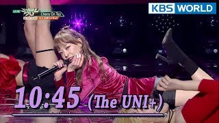 10:45 (The UNI+) - Cherry On Top [Music Bank Special Stage / 2018.01.26]