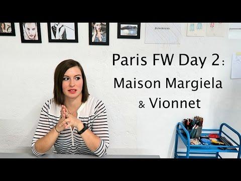 Paris FW Day 2: Maison Margiela & Vionnet