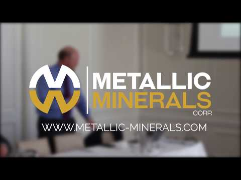 Metallic Minerals Lunch Presentation, Vancouver BC July 2018