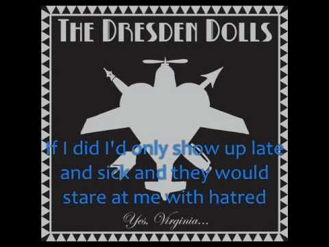 Dresden Dolls - My Alcoholic Friends [Lyrics]