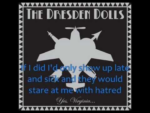 Dresden Dolls - My Alcoholic Friends [Lyrics]