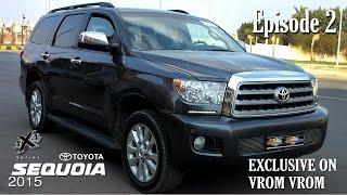 Toyota Sequoia 2015   4X4 Series   Episode 2   تويوتا سيكويا 2015   سلسلة الدفع الرباعى