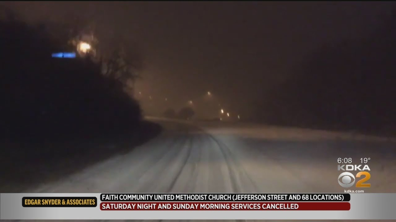 Pittsburgh Weather: PennDOT Officials Talk Speed Restrictions And Road  Conditions