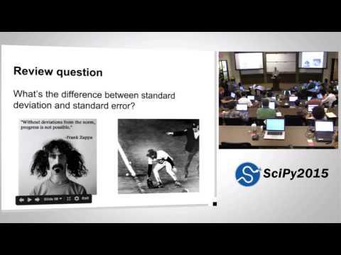 Computational Statistics I   SciPy 2015 Tutorial   Allen Downey