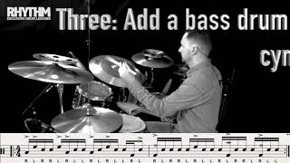 One Minute Lesson 1: #Paradiddle lick idea