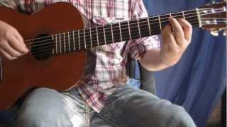 Tutorial Héroe - Guitarra HD - Acordes Punteo Rasgueos - Enrique Iglesias