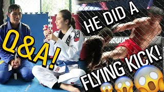 Q&A WITH EDUARD FOLAYANG ( HIGHLIGHTS FROM ONE CONQUEST OF CHAMPIONS!)