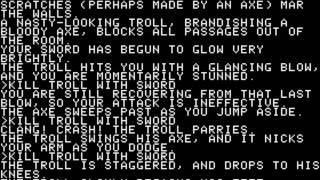 Zork: The Great Underground Empire for the Apple II