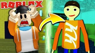 TRANSFORMED INTO BALDI?! | Roblox Baldi RP