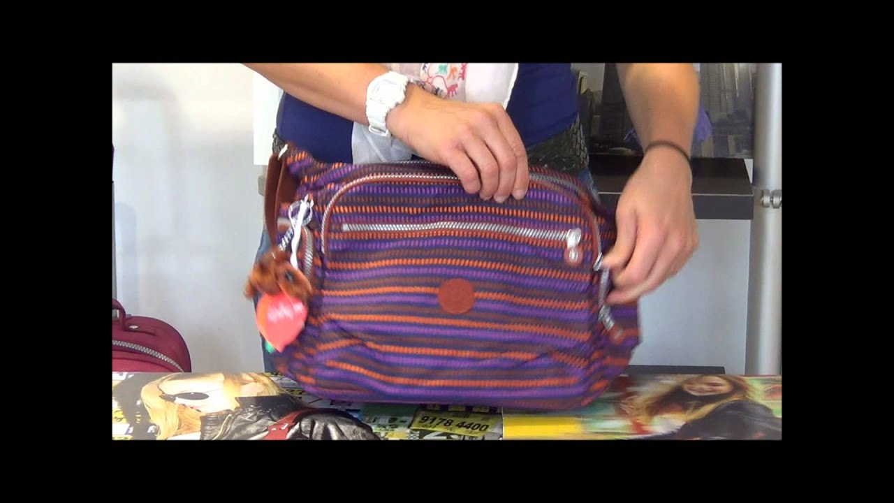 b659eb307f Kipling Gabbie shoulder bag - YouTube