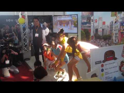 Tokyo Performance Domo - NHK World Booth At J-Pop Summit 2016 Clip 1