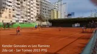 Final del 1er Torneo de Singles 2015 del Peru Tennis Group