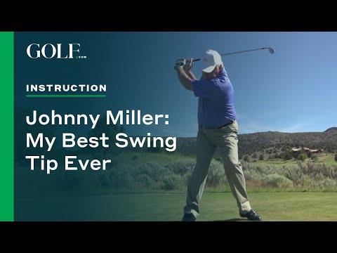 Johnny Miller: My Best Swing Tip Ever