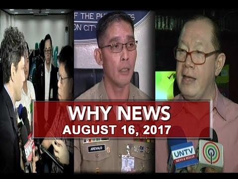 UNTV: Why News (August 16, 2017)