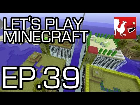 Let's Play Minecraft - Episode 39 - Dig Down | Rooster Teeth