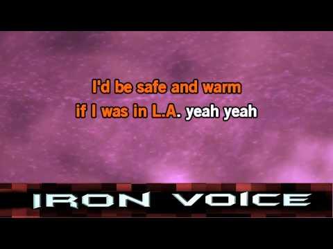 Iron Voice - California Dreamin Karaoke