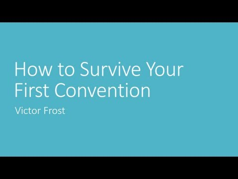 How to Survive Your First Convention - Anime Expo 2013 Panel