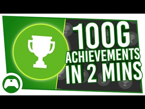 Ten 100G Achievements You Can Unlock In 2 Minutes!