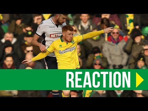 Norwich City 0-0 Bolton: Harrison Reed Reaction