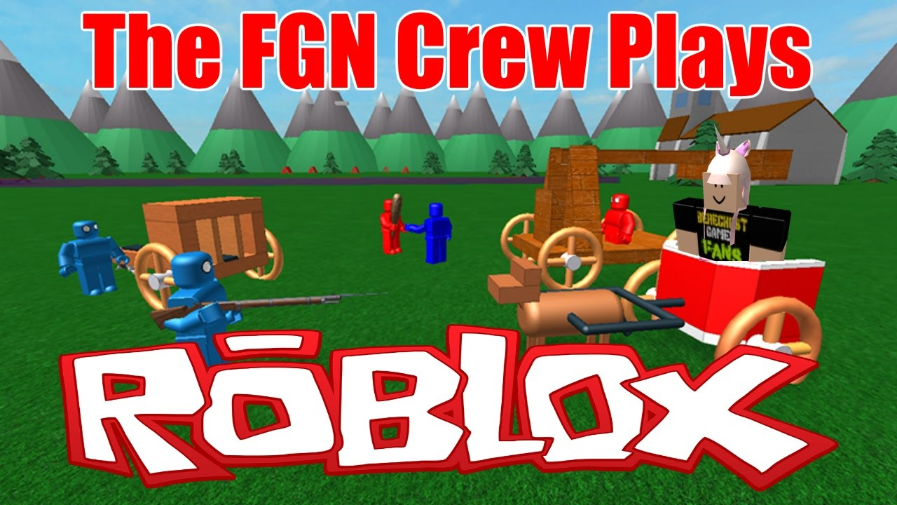 The Fgn Crew Plays Roblox Totally Roblox Battle Simulator Pc - fgn roblox