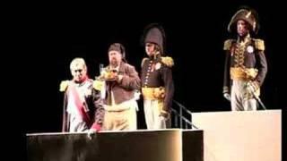 War and Peace. Boris Statsenko performs the role of Napoleon