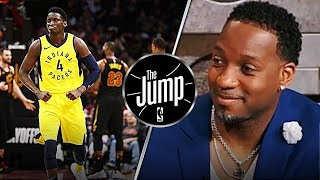 McGrady Compares His Breakout Season To What Victor Oladipo Has Done With Pacers | The Jump