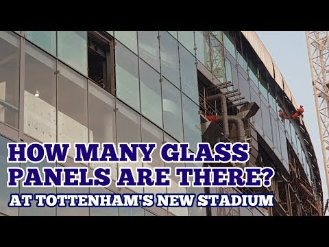 UPDATE AT TOTTENHAM'S NEW STADIUM: Chris Cowlin is Talking About Panels AGAIN! How Many Are There?