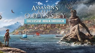 Assassin's Creed: Odyssey | Exclusive Gameplay MASSIVE BATTLE 150v150 (4K Xbox One X)