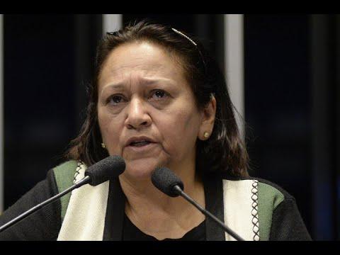 Fátima Bezerra diz que prisão de Lula é injusta e arbitrária