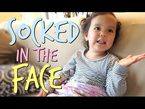 It's Nice to Get Socked in the Face! - September 16, 2016 -  ItsJudysLife Vlogs