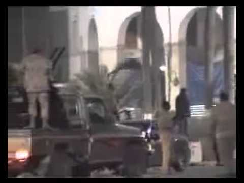 Libya / Tripoli: Libyan army and the heroic volunteers conquer Green Square