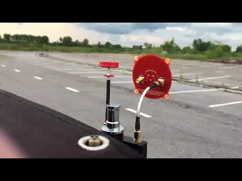 Pagoda 2 and patch Antenna 5.8G range test at 10km
