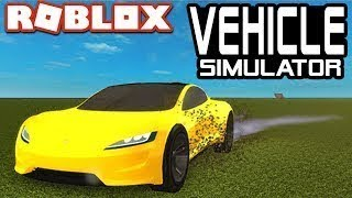 Vehicle Simulator in Roblox