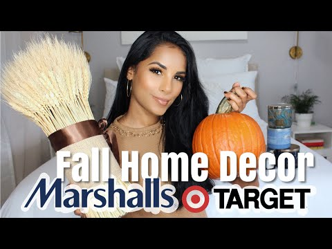 Fall Home Decor Haul | Marshalls + Target