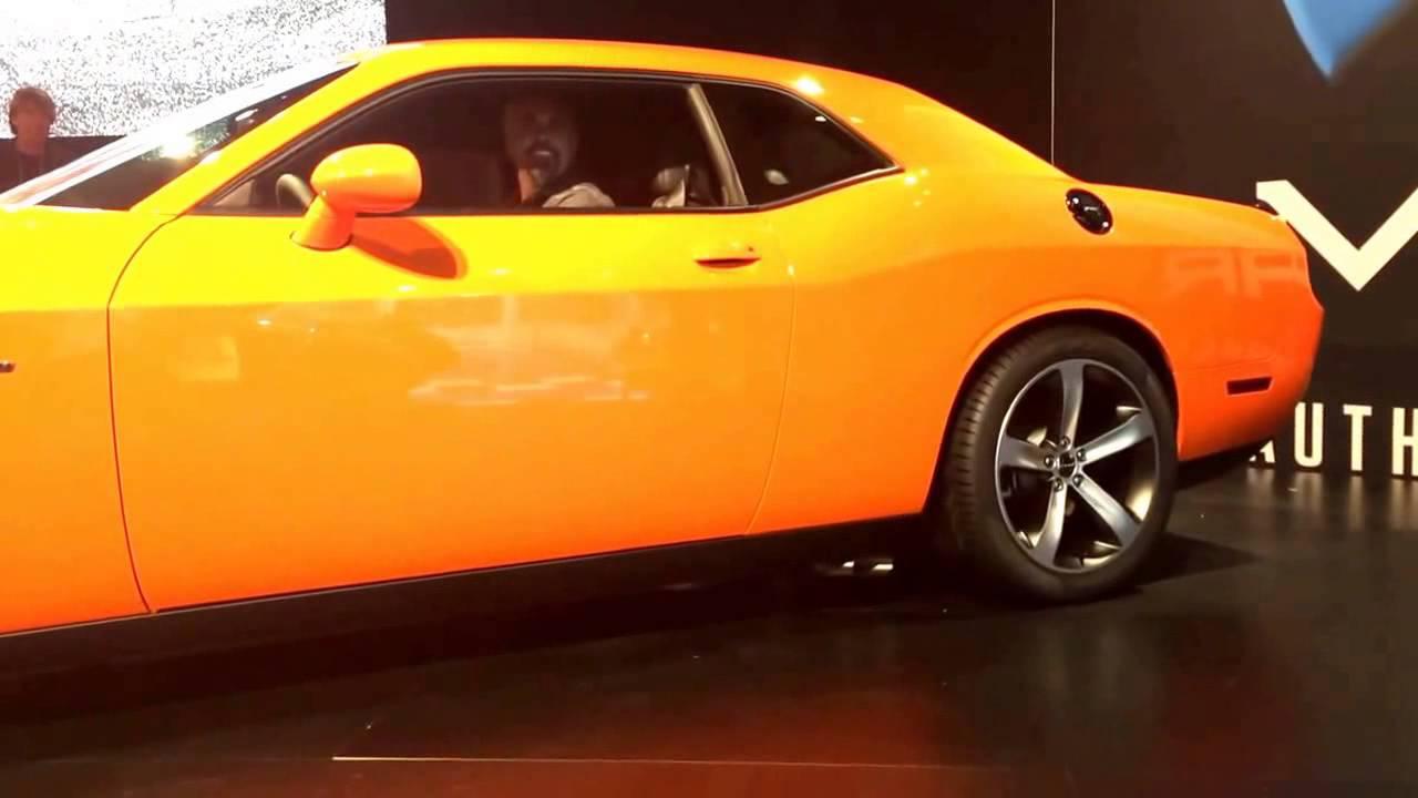 2014 Dodge Challenger HEMI Shaker revs it up  YouTube