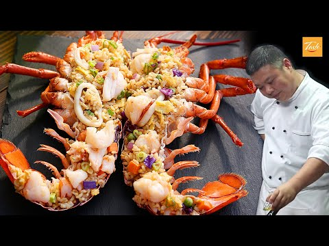 Satisfying Lobster and Fried Rice Recipe l Chef John's Recipes for Weekend