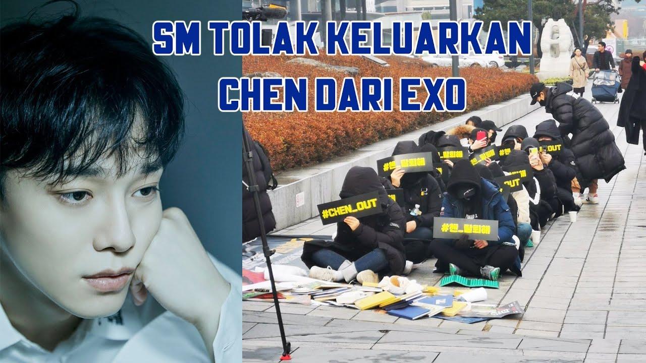 SM Entertainment Tolak Keluarkan Chen EXO   Kpop Chart ...