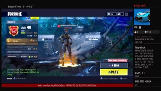 GWO SQUAD/PLAYING FORTNITE With subscribers Getting DUBz/ ROAD TO 2k SUBz
