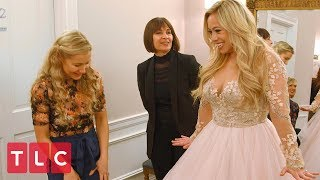 Sabrina Bryan Hopes to Find the Wedding Dress of Her Dreams | Say Yes to the Dress