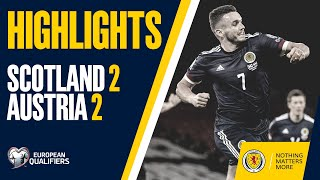 HIGHLIGHTS | Scotland 2-2 Austria | FIFA World Cup Qualifiers