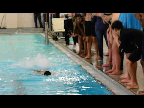 Absegami's Stanley Adams, who has autism, makes high school swimming debut
