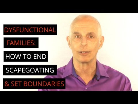 Dysfunctional Families: How To Deal with Scapegoating & Projection